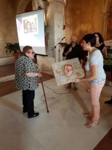 Concorso arte e letteratura Pietro Iadeluca - premiazione di Norma Pascuala Donia