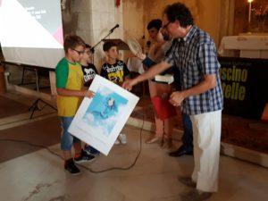 Concorso arte e letteratura Pietro Iadeluca - premiazione sezione dedicata a Farnaz Mirzapoor